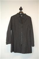 Dark Ash Annette Gortz Coat, size 8