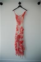 Red & White BCBG Maxazria Summer Dress, size 6