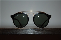 Shiny Black Ray Ban Sunglasses, size O/S