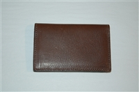 Brown Leather M0851 Card Case, size O/S