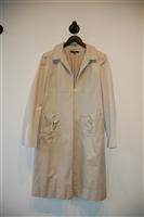Satin Beige Hugo Boss - Boss Black Overcoat, size 12