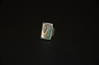 Sterling Silver No Label Ring, size O/S