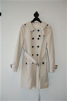 Ivory Coach Trench Coat, size 12