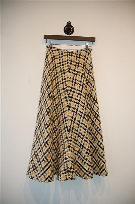 Check No Label - Vintage Maxi Skirt, size S