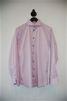 Light Pink Eton Button Shirt, size M