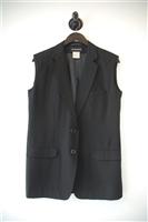 Basic Black Ann Demeulemeester Vest, size 8