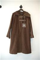 Moss Brown Annie Thompson Coat, size M