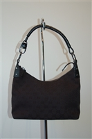 Basic Black Gucci Shoulder Bag, size S