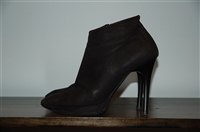 Black Leather Lanvin Booties, size 9