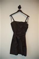 Satin Black BCBG Maxazria Cocktail Dress, size 8