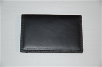Black Leather M0851 Card Case, size O/S