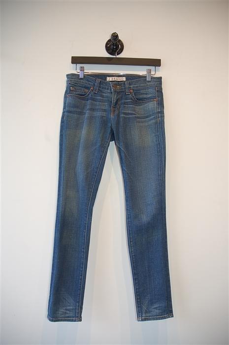 Faded Denim J Brand Skinny Jean, size 26