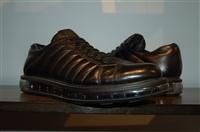 Black Leather Prada Sneaker, size 12