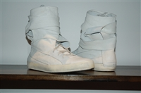 Bright White Cinzia Araia High-Top Sneakers, size 11