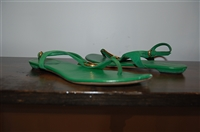 Kelly Green Gucci Sandal, size 6.5