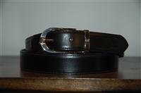 Black Leather Giorgio Armani Belt, size XL