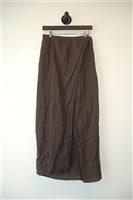 Espresso Pauw Maxi Skirt, size M
