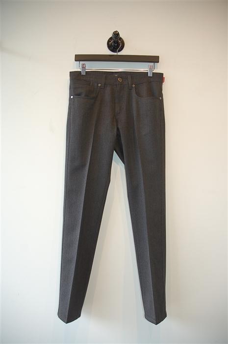 Dark Steel Z Zegna Trouser, size 30