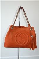 Burnt Orange Gucci Shoulder Bag, size L