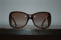 Tortoise Shell Versace Sunglasses, size O/S