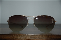 Gold Oliver Peoples Sunglasses, size O/S