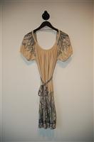 Nude BCBG Maxazria Summer Dress, size M