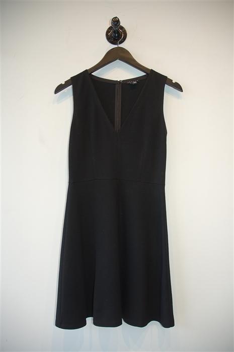 Basic Black Theory A-Line Dress, size 0
