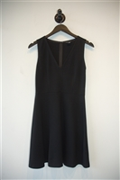 Basic Black Theory A-Line Dress, size 0