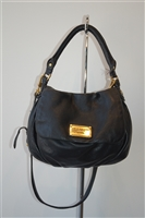 Black Leather Marc by Marc Jacobs Hobo, size M