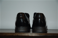 Black Leather Gucci Slip-On Shoe, size 12