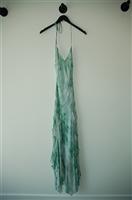 Sea Green BCBG Maxazria Long Dress, size 6