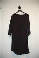 Basic Black Armani Jeans Shift Dress, size 10