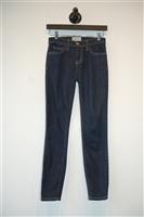 Denim Blue Current / Elliott Skinny Jean, size 24
