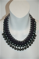 Dark Steel Parosh Necklace, size O/S