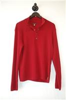Dark Red Armani Jeans Pullover, size L