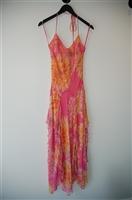 Floral BCBG Maxazria Long Dress, size 4