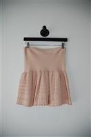 Nude BCBG Maxazria Circle Skirt, size L