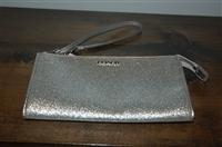 Silver Coach Wallet, size O/S