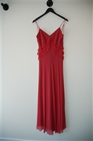 Deep Blush BCBG Maxazria Long Dress, size 4