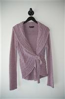 Lilac BCBG Maxazria Sweater Wrap, size S