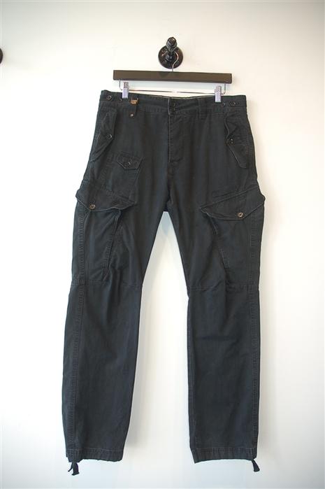 Faded Black Diesel Cargo Pants, size 30