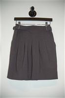 Smoky Gray BCBG Maxazria Short Skirt, size 0