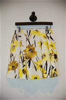 Floral Alice + Olivia Pleated Skirt, size 6