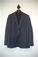 Navy Check Hugo Boss - Boss Black Two-Piece Suit, size 36