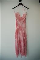 Pastel Pink BCBG Maxazria Long Dress, size 6