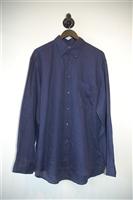 Indigo Canali Button Shirt, size L