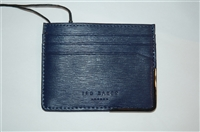 Navy Ted Baker Card Case, size O/S