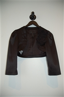 Satin Black BCBG Maxazria Bolero Jacket, size 2