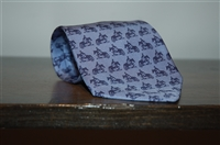 Dusk Blue Hermes Tie, size O/S