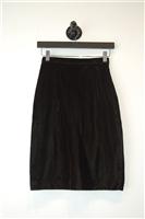 Dark Chocolate Holt Renfrew Pencil Skirt, size 2
